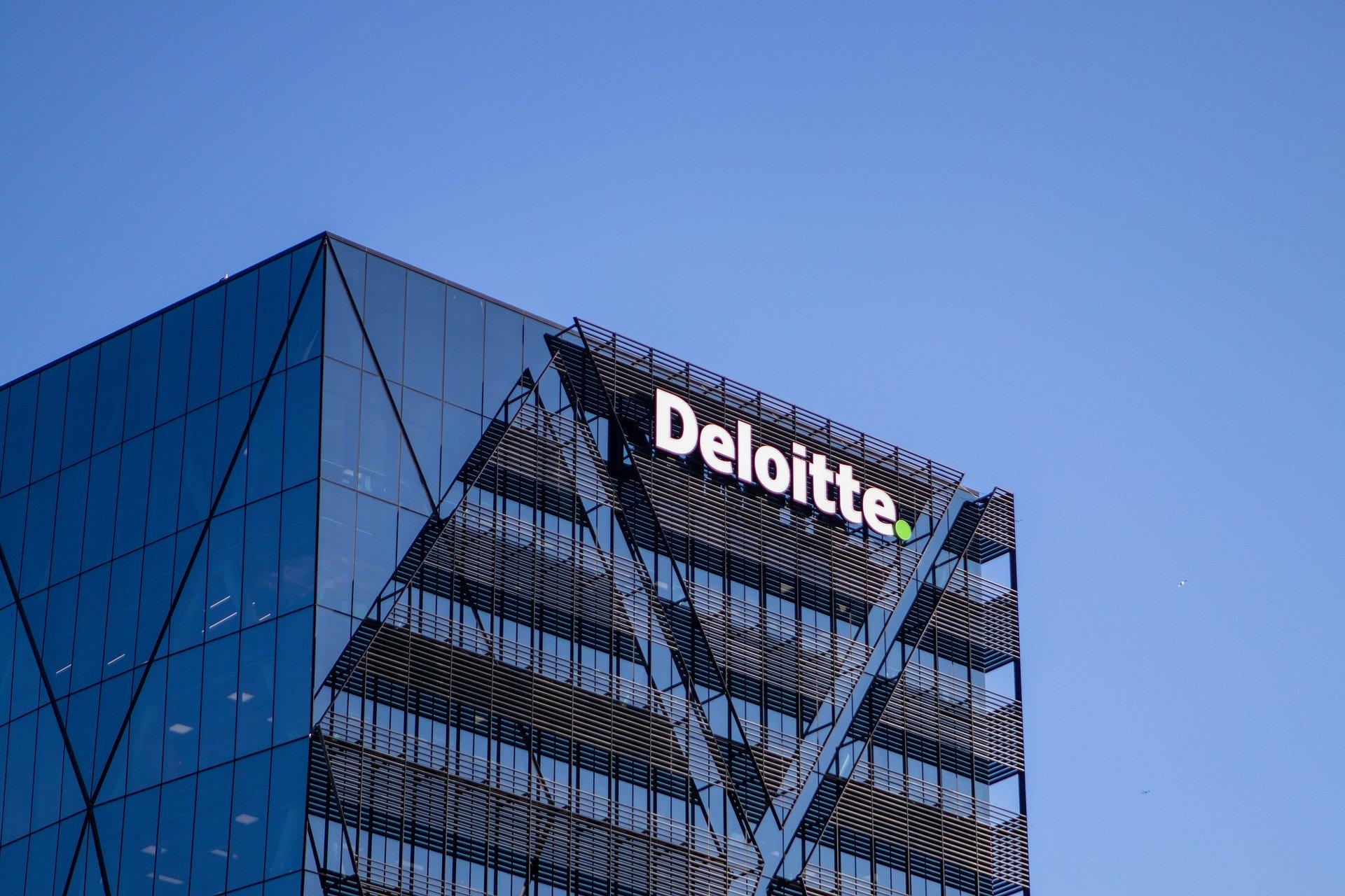 A Deloitte skyscraper.