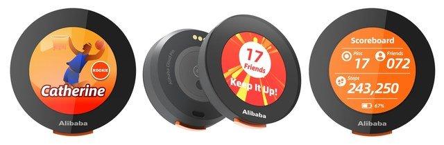 Alibaba Cloud Pin for Tokyo Olympics