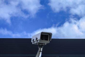 A security camera.